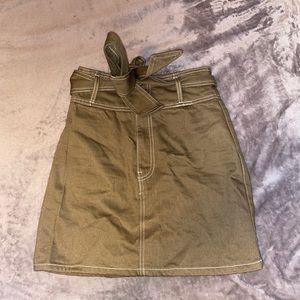 Forever 21 Olive Skirt